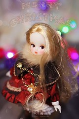 Merry Christmas! (Picot* by Chano) Tags: petite chica cosette the märchen
