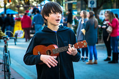 Street entertainer - Columbia S.C. (DT's Photo Site - Anderson S.C.) Tags: entertainer street musician soda city market columbia south carolina young kid vendor canon 6d 24105mml lens