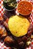 IMG_8203 (David Danzig) Tags: bs crackling bbq barbecue cracklin restaurant food pulled pork ribs smoked chicken baked beans collard greens