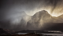 Assynt (Roksoff) Tags: camloch winter snow lochassynt sutherland stacpollaidh suilven culmor canisp scottishhighlands glencanisp scotland storm hail cloud light nikond810 nikond800 gitzo leefilters 1635mmf4 70200mmf28 moody atmosphereic landscape outdoor stormy thefiddler coigach druim bad aghaill loch