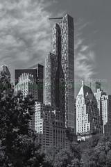 One57 Residential Tower (cholmesphoto) Tags: america bw manhattan nyc newyork newyorkcity northamerica one57 us usa unitedstates unitedstatesofamerica architecture blackwhite blackandwhite building commercialbuilding day daylight daytime midtown residentialbuilding skyline skyscraper urbanlandscape urbanskyline