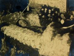 In Repose (~ Lone Wadi ~) Tags: coffin casket death funeral wake postmortem corpse repose unknown retro 1930s