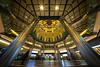 Day 364/366 : JR Tokyo Station (#29/29) (hidesax) Tags: 364366 jrtokyostation 2929 dome column lights blue chiyodaku tokyo japan hidesax sony a7ii voigtlander 10mm f56 366project2016 366project 365project