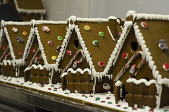 Gingerbread houses (Sassefras_Robinson) Tags: america newyork pastry pastrychef ginger gingerbreadhouse gingerbreadhouses candy