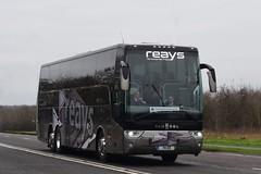 74ER  (YJ14CFK)  Reays, Wigton (highlandreiver) Tags: 74er 74 er yj14cfk yj14 cfk reays coaches wigton egremont penrith carlisle cumbria van hool tx bus coach leicester city fc football club