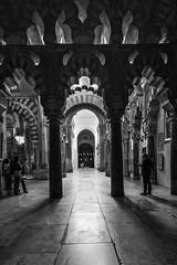Mezquita VI byn (Joaquín Mª Crespo) Tags: byn blackwhite bw monocromo monumental monumento córdoba mezquita culturas callejeo claroscuro contraluz fujifilm xpro2 xf1024