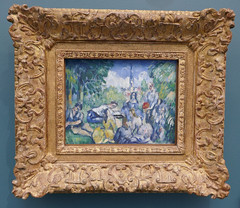 Le Déjeuner sur l'herbe - Paul Cézanne, 1876-87 (Monceau) Tags: ledéjeunersurlherbe paulcézanne painting
