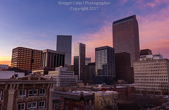 Sky Blue Pink Sunset Over the Denver Skyline (Bridget Calip - Alluring Images) Tags: 2017 alluringimagescolorado architecture bluehour bridgetcalip buildings capitalcities capitalofcolorado colorado denverbroncos evening milehicity milehighcity queencityoftheplains reflections skyscrapers sunset winter skybluepink usa