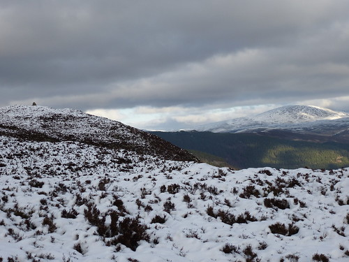 P19 Cairn with Morven beyond