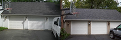 Shingle Roof - Before & After (mr_roof) Tags: raleighroofers raleigh raleighnc roofing transformation siding garage roofers roof roofingcompany roofingcontractors roofreplacement