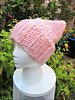 Pussy Hat 3, from the side (Needleloca) Tags: 2017 pussyhats knitting womensmarch projects