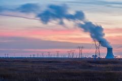 Nuclear Sunset (seanbeebe_photo) Tags: salem nuclear sunset newjersey nj