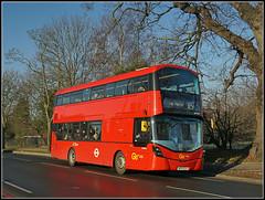 Go-ahead London (Metrobus) WHV42 (Jason 87030) Tags: goahead london westwickham wickhamroad shirley croydon alpha a6000 ilce nex shot morning sunny bluesjy bp15oln whv42 gemini volvo 119 bromleynorth doubledecker red