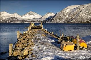 Nordfjord on Kvaløya, Norway (explored)