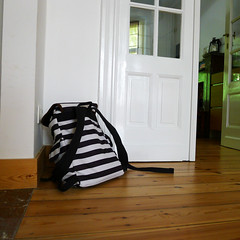 a bags life! (domit) Tags: brussels home bag belgium stripes laeken eastpak