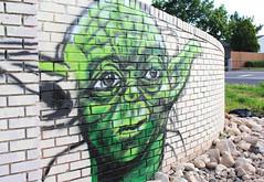 Yoda Graffiti (5Bigfoots) Tags: art graffiti yoda day5 project365 365project 365projectday5 yodaart