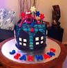 Birthday 02A (Spiderman) (treatsNfeasts) Tags: birthday food cake spiderman treatsnfeasts