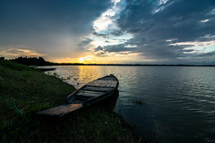 Calm (SPEEDBOY15) Tags: travel light sunset summer sky sun india lake green wet water beautiful beauty june clouds speed photography golden nikon peace angle wide peaceful calm tokina monsoon hour assam 11mm wetland silchar d7100 chatla