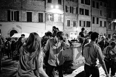 the becools #5 (Lifeinpicture) Tags: blackandwhite motion concert blurry dancers livemusic young beatles perugia umbria lifeinmusic lifeinpicture becools