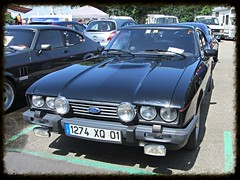 Ford Capri MkIII 2.8i (v8dub) Tags: auto old 2 classic ford car capri schweiz switzerland automobile suisse 8 automotive voiture german oldtimer oldcar injection collector youngtimer wagen pkw klassik bleienbach worldcars