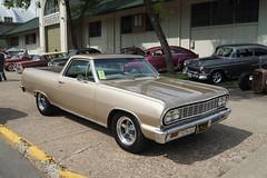 "1964 Chevrolet El Camino (DVS1mn) Tags: cars chevrolet gm bowtie chevy carshow generalmotors 2015statefairgroundsstpaulminnesota msra""backtothe50′s""42ndannualjune1921"