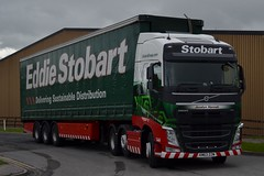 Stobart H4007 KM63 ZZW Jocelyn Hannah at Carlisle Depot 28/5/15 (CraigPatrick24) Tags: road truck volvo cab transport lorry delivery vehicle trailer carlisle logistics stobart eddiestobart curtainsider volvofh stobartgroup carlisledepot km63zzw h4007 jocelynhannah stobartcurtainsider