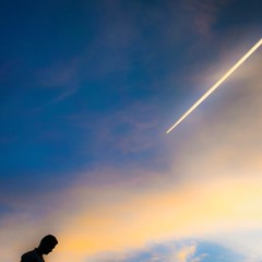 Sunset silhouette of a Bangladeshi man... (thatbenhaller) Tags: sunset color silhouette clouds contrail bearmountain summit harriman bangladesh shotaward latergram uploaded:by=flickstagram instagram:photo=789997421687932347571993008 retropman