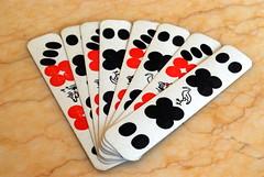 sevens (kingkong21) Tags: red playing black cards seven