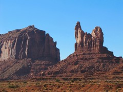 Monument Valley #8 (jimsawthat) Tags: sky clouds rural utah erosion highdesert geology monumentvalley buttes