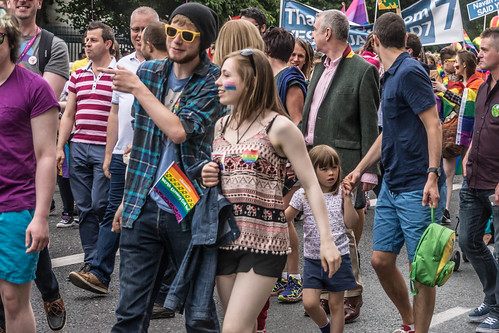 DUBLIN 2015 LGBTQ PRIDE PARADE [WERE YOU THERE] REF-105970