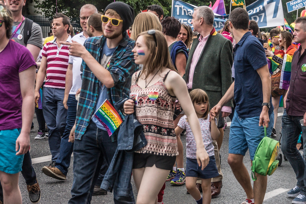 DUBLIN 2015 LGBTQ PRIDE PARADE [WERE YOU THERE] REF-105970
