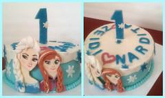 Frozen cake by Vicki, Rio Rico-Noglales, Arizona, www.birthdaycakes