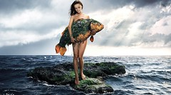 Creative Mermaid Girl Art Photography (StylishHDwallpapers) Tags: girls sea fish beautiful photography arts creative womens mermaid watergirl wetgirl