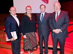 Dr Peter Farrell, Claire Penniceard, Hugh Morgan & Mike Smith_4