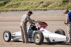 Pendine sands (technodean2000) Tags: show uk hot classic beach car wales race vintage coast sand nikon weekend rod pendine lightroom d610 worldcars