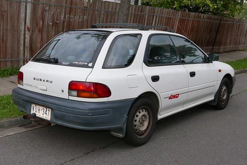 1994 Subaru Sportswagon (GF6) 4WD hatchback