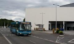 436 at Mercedes-Benz World (bobsmithgl100) Tags: bus surrey wright cadet brooklands daf sb120 3931 szl mercedesbenzworld route436 gk51szl gk51 arrivakentsurrey