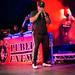 Public Enemy - Chuck D playing a harmonica