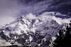 The Killer Mountain ( Nanga Parbat ) (iffi's photography) Tags: travel pakistan mountain snow clouds trekking landscape zoom glaciers peaks northernareas himalayas gilgit nangaparbat killermountain baltistan fairymeadows northernareasofpakistan 9thhighest