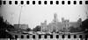 2016-05 - 056SR/059SR - DSC_0037 (sarajoelsson) Tags: sprocketrocket blackandwhite bw panorama panoramic sprocketholes digitizedwithdslr toycamera ilford 135 35mm 2016 hp5 monochrome plasticlens everydaylife filmphotography filmisnotdead believeinfilm filmshooter film wideangle lomography lomo may madrid spain city urban xtol teamframkallning bnw svartvitt blackwhite spring springtime