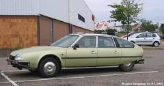 Citroën CX 25 Pallas I.E. 1986 (XBXG) Tags: 428bfx57 citroën cx 25 pallas ie 1986 citroëncx vert cali vertcali cora forbach moselle 57 grandest grand est france frankrijk green groen vintage old classic french car auto automobile voiture ancienne française outdoor vehicle