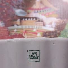IMG_5896 (Pierre Marcel) Tags: yves rocher gateau chocolat rhinolophe rocheguyon château mûres îledefrance seine cuillère dessert délice jardin potager