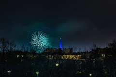 _MG_5228 WOSP 2017. (Sakuto) Tags: fireworks light night city poznan wosp landscape tower blue colors outdoor colorful poland sky