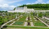 Chateau and Gardens of Villandry (Lena and Igor) Tags: travel europe france villandry chateau garden scenic geometric flowerbed flowers castle schloss palace green blue clouds dslr nikon d7000 nikkor 18300