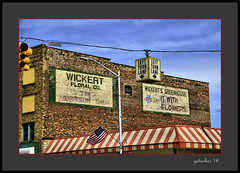 Wickert's (the Gallopping Geezer '4.2' million + views....) Tags: signage wall painted paint ad advertise advertisement business store escanaba mi michigan upperpeninsula up smalltown backroad backroads mainstreet worn faded roadtrip canon 5d3 tamron 28300 geezer 2016