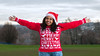Have A Merry Christmas Y'all (Tim Dennell) Tags: merrychristmas portrait african blackgirlmagic blackwoman christmas happy seasonal greetings