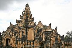 Mandalay - Inwa - Maha Aungmye Bonzan Monastery (zorro1945) Tags: inwa ava sagaing mandalay myanmar burma asia asie monastery pagoda temple buddhisttemple buddhism mahaaungmyebonzan