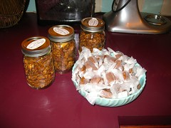 Candied Walnuts and Caramels (cupcakes photos) Tags: walnuts sweet spicy caramels vanilla kahlua