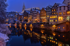 One Day Later...... (kanaristm) Tags: snow winter january 2017 tübingen germany neckar river white reflection reflections copyright2017kanaristm copyright2017tmkanaris kanaris kanarist kanaristm tmkanaris tmk nikon photography travel lowlight blue europe tkanaris foto photo copyrighttmkanaris copyrightkanaristm neckarfront