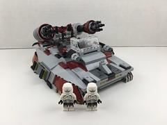 IHA-12 Plasma Tank (1) (Ken N.) Tags: star wars lego legos lsw mocs imperial stormtrooper hovertank